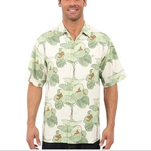 Tommy Bahama I'm a big fan silk shirt